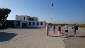 Five Musketeers arrive in Naxos